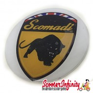 Badge Sticker Domed - Scomadi (75mm, 75mm)