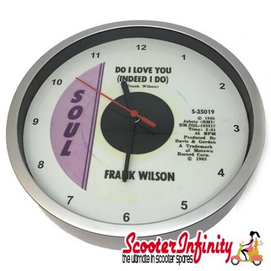 Wall Clock - Frank Wilson (Do I Love You) (220mm Wide)