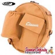 """Bag Spare Wheel 10inch """"Classic"""" (SIP) (Beige) (24x5 cm) (Classic Vespa, Lambretta)"""
