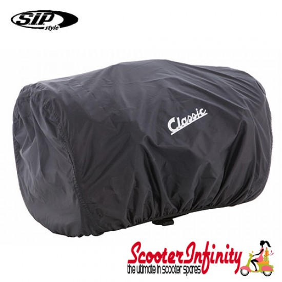 Case Top Box / Roll Bag Classic SIP Style - VESPA PX GTS/GT/GTV/LX LAMBRETTA (FITS TO ANY CARRIER) (35L) (Beige or Brown)