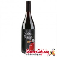 Bottle of Red Wine Carton Rouge (Added Scooter Emblem) (13.5% vo) (750ml)