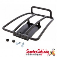 Carrier/Rack Rear Black SIP Style Vespa GTS/GTS Super/GTV/GT 60/GT L