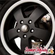 Wheel Nut / Stud Cover Vespa GTS (Chrome) (SET OF 10)