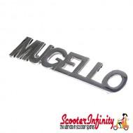 Badge Legshield MUGELLO (Lambretta DL, GP, LI)