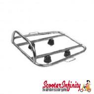Carrier/Rack Rear Sebring Sprint (Chrome) (Lambretta)