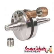 Crankshaft MAZZUCCHELLI (stroke 58mm, corned 107mm,  pin 16mm, cone small 21mm) (Lambretta SX 200)