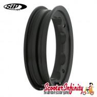 Wheel Rim Tubeless SIP Matt Black (aluminium, KBA 50164, valve premounted) (2.10x10) (Lambretta)