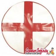Wheel Cover (For Spare) England George Cross (Lambretta / Vespa)