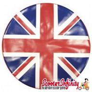 Wheel Cover (For Spare) Union Jack Flag UK (Lambretta / Vespa)