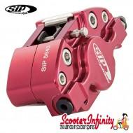 Brake Caliper SIP (Aluminium, Anodised Red) (Grimeca,`98/MY, front, Vespa) (MMW Rear)
