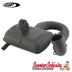 Exhaust SIP Road 2 (with Enlarge 5 Section Downpipe) (Vespa 200 Rally, P200E, PX200E 200 Rally/P200E /PX200 E/Lusso/`98/MY/Cosa 200)