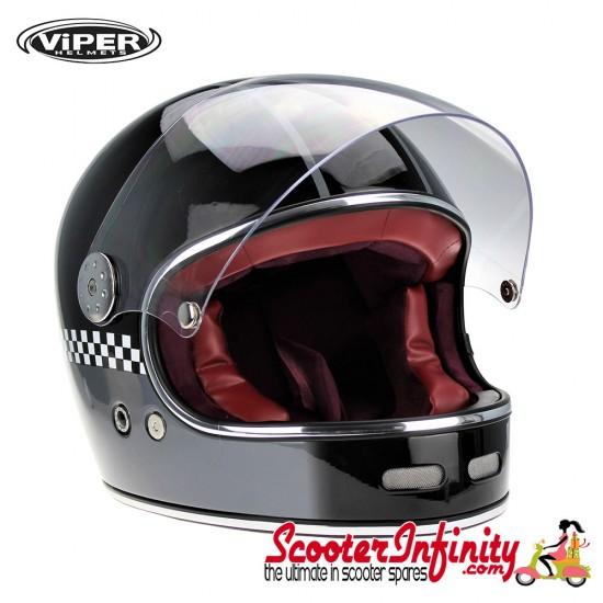 Helmet / VIPER F656 (Full Face - GP Check)