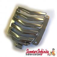 Horn Cover Inlay Vespa GTS Super Sport (Chrome) (Piaggio)