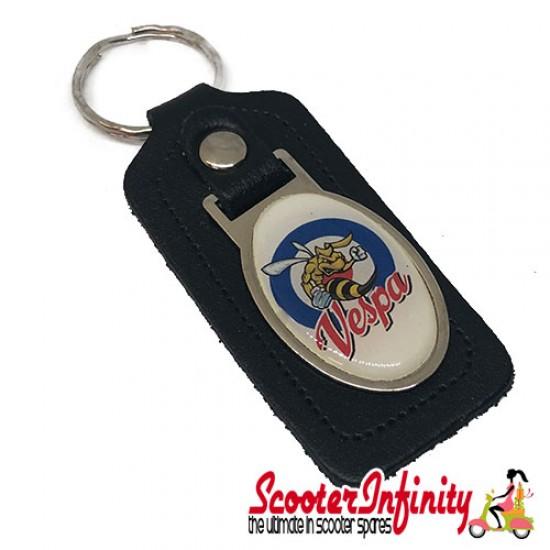 Key ring chain - Vespa Wasp (Black)