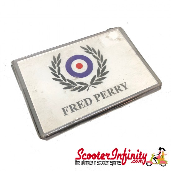 Magnet (Fridge Magnet) (Fred Perry) (70mm, 100mm)