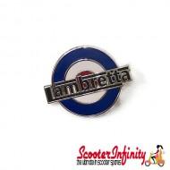 Pin Badge - Mod Target with Lambretta Emblem
