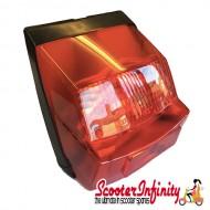 Rear Light (Vespa P80-150X  /PX80-200E/P150S/P200E) (Without Bulbs)