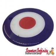 Badge Sticker Domed - Mod Target (75mm, 75mm)