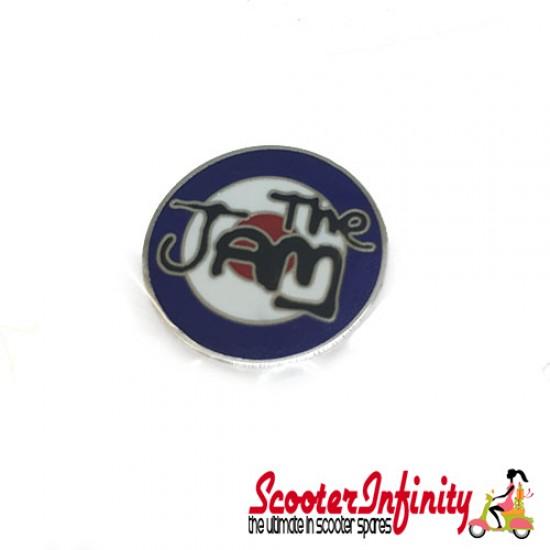 Pin Badge - The Jam with Mod Target