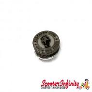 Pin Badge - Northern Soul - Keep the Faith (Small Tiny) (Silver Edge)